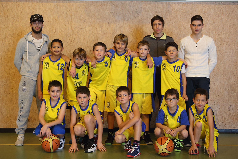 photo de l'Équipe poussins (U11) – 2006/2007