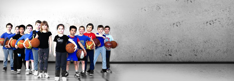 Enfants de l'équipe du Pinsaguel Basket Club