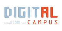 Logo de l'école Digital Campus